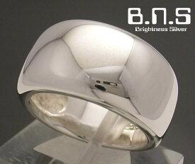 月甲丸ヌーヴェルヴァーグシルバーリング シルバー925 ペアリングにも最適 ヌーベルバーグヌーベルバーグ(男性用 女性用 メンズ レディース シンプル 結婚 指輪 マリッジリング)