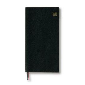 ダイゴー 手帳(ダイアリー)2021年1月始まり アポイント Appoint E1034 1週間+横罫 A5ベーススリム ブラック