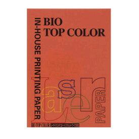 伊東屋 バイオトップカラーA4判[100枚入]「ブリックレッド」 BT119【a32254】