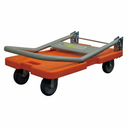 ナンシン 樹脂運搬車(台車) LSK-211R/オレンジ【a70913】