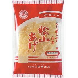 (株)程野商店 松山あげ 小判 3枚入