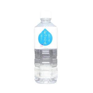 (株)ぞっこん四国  四国カルスト天然水 ぞっこん500ml×24本