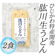 【愛媛の特産品】(有)ひじかわ特産開発肱川生うどん2食入〈お取り寄せ〉
