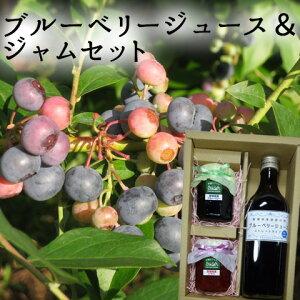 (有)高山ガーデン ブルーベリージュース&ジャムセット(ブルーベリー、いちご)