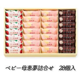 【20%OFFクーポン配布中!】(株)母恵夢 ベビー母恵夢詰合せBP28-2 箱28個入