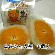 ボッコ製菓島みかん大福(まるごと1ケ入)6個入