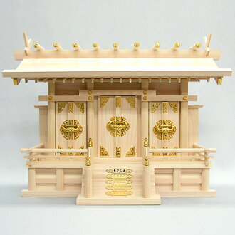 Altar (shrine) through roofing company in height 44 cm × 61 cm width 02P12Oct14