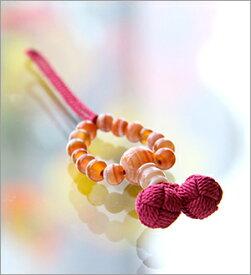 【母の日プレゼント】【ストラップ】【 携帯ストラップ】【雑貨】【数珠 めのう】【縞メノウ】 縞メノウ【楽ギフ_包装選択】