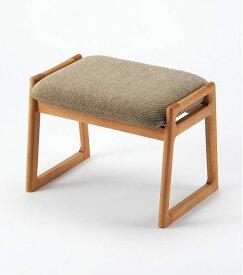 《安定感のある椅子》【スツール】【現代仏具 椅子】【国産/無垢材/インテリア】椅子ボーネナチュラル