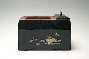 【角香炉 】【仏具 廻し香炉】【焼香セット】(法事用品)サンメニー黒蓮 5.0基本セット