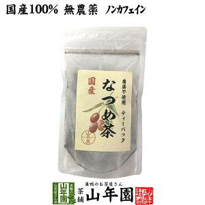 【国産】なつめ茶 ティーバッグ 24g(2g×12P)送料無料 無農薬 ノンカフェイン 漢方 薬膳 果物 ギフト プレゼント 母の日 父の日 プチギフト お茶 内祝い 2021 早割