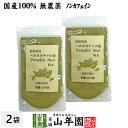 【国産 無農薬 100%】ペポカボチャの種 粉末 50g×2袋セット 福島県産 ノンカフェイン 送料無料 放射能検査済み かぼ…