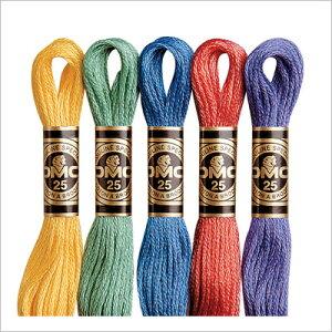刺繍糸【DMC25番1束より販売】Art.117#25