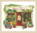 【DMC】 クロスステッチ 刺繍キット BK1671 Le fleuriste フラワーショップ 【あす楽】【HLS_DU】