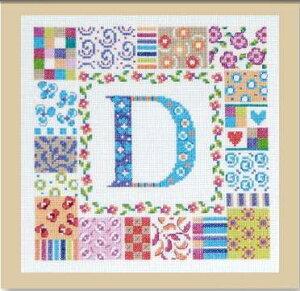 【DMC】刺繍キットBK1208Patchletter