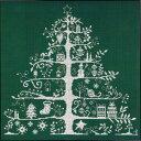★数量限定セール★【DMC】クロスステッチ 刺繍キット JPBK557G クリスマスツリー (グリーン) 【あす楽】【メール便…