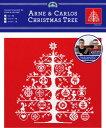 【DMC】 クロスステッチ 刺繍キット JPBK557AC アルネ&カルロスのクリスマスツリー 【あす楽】【HLS_DU】 【RCP】