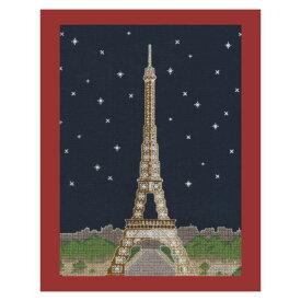 【DMC】 クロスステッチ 刺繍キット BK1725 Paris by Night 夜のパリ・エッフェル塔 【あす楽】【HLS_DU】