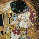 ★新発売★【DMC】 クロスステッチ 刺繍キット BK1811 THE KISS 『接吻』 Gustav Klimt 【あす楽】【送料無料】