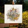 【PerminofCopenhagen】クロスステッチ刺繍キットWaterflowers70-7300(ペルミン/デンマーク)【送料無料】