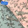 ★新発売★【mfta】フランス製コットンプリント生地MESANGE3457(全2色)【切り売り】