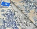 【mfta】 フランス製 コットンプリント生地 PASTORALE 3321 パストラル(全7色)【切り売り】