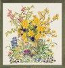 【EvaRosenstand】クロスステッチ刺繍キットEasterflowers94-358イースターフラワー(エヴァ・ローゼンスタンド/デンマーク)【送料無料】