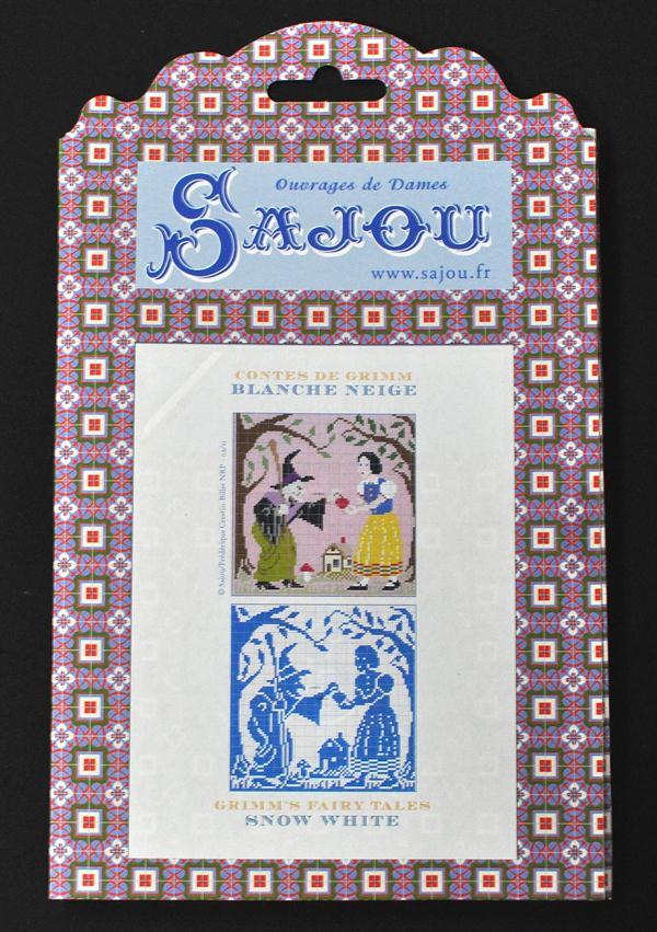 【Sajou】 サジュー 図案チャート グリム童話集 『Blanche-Neige 白雪姫』 GRI_PDC_GRI_01