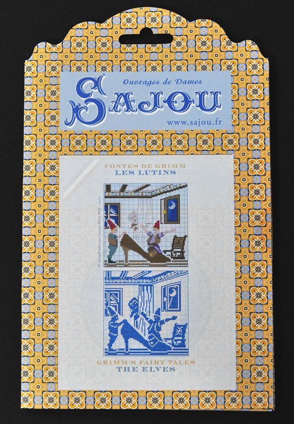 【Sajou】 サジュー 図案チャート グリム童話集 『Les Lutins』 GRI_PDC_GRI_11