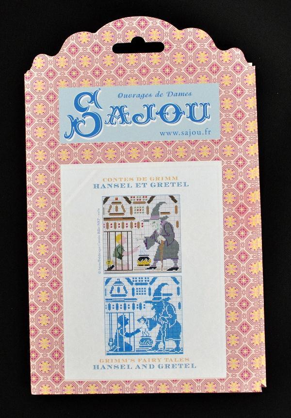 【Sajou】 サジュー 図案チャート グリム童話集 『Hensel et Gretel ヘンゼルとグレーテル』 GRI_PDC_GRI_03