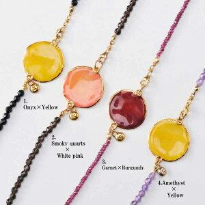 アフターSALE!【送料無料】 rose long necklace(group4) 天然石 ロングネックレス 本物の花 バラ