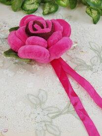 薔薇のカーテンタッセル♪人気商品再入荷しました!薔薇雑貨 おしゃれ プリンセス ロココ【プチギフト】ローズ ピンク