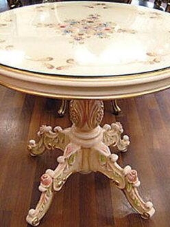 로코코 프린세스 90cm 라운드 테이블