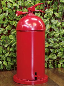 ファイヤーマン 消火栓ゴミ箱 カラー:真っ赤【送料無料サービス】ペダル式