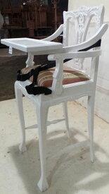 高級マホガニー材 イタリー製生地使用♪ベビーチェア腰ベルト付【送料無料】 ベビーチェア ハイチェア テーブル付き 木製 キッズ こども プレゼント チェア 子供チェア 子供椅子 ダイニングチェアー 子ども椅子 チェア 椅子 いす こども 家具 木製