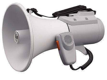 ER-2115 TOA ショルダーメガホン 15W 拡声器 選挙 学校