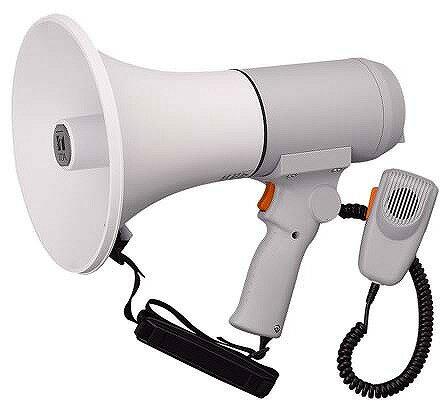 ER-3115 TOA ハンドル付ショルダーメガホン 15W 拡声器 選挙 学校