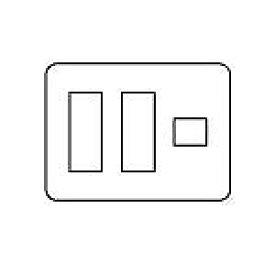 WTV6207A2 パナソニック [ラウンド] Fプレート(7コ用)(ダークブラウン)