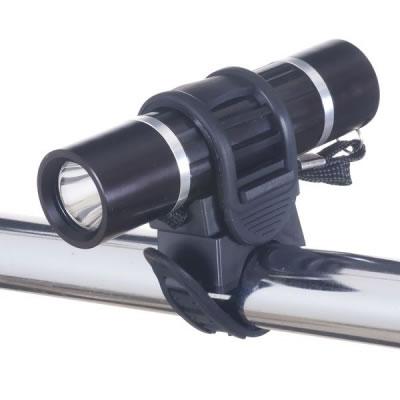 LB104BK ヤザワ 自転車用ライト(アルミ製) 日亜製白色LED0.5W×1灯