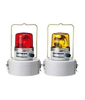 SKHB-1006MD-Y PATLITE パトライト 電池式回転灯 黄色