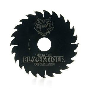 MAT-BT-100 山真製鋸 ブラックタイガー 外径100mm 木工用チップソー 替刃