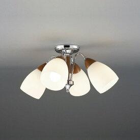 CD-4324-L 山田照明 シャンデリア ウォールナット色 LED 〜6畳