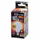 LED電球 E17 電球色 アイリスオーヤマ LDA5L-G-E17-4T2 一般電球タイプ 440lm
