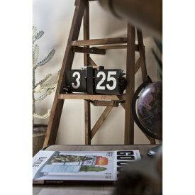 【メーカー直送】 おしゃれなレトロ時計 フリップクロック ブラック CLK-118BK 東谷 置き時計 壁掛け時計