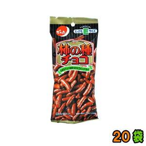 『提携会社直送品』【送料無料(沖縄・離島除く)】でん六 Eサイズ柿の種チョコ 48g 20袋(10袋x2)