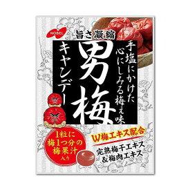 取り寄せ★【送料無料(沖縄・離島除く)】ノーベル 男梅キャンデー 80g 12袋
