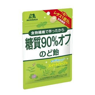 【クロネコDM便orゆうパケット送料無料】森永製菓糖質90%オフのど飴×4袋【お菓子】