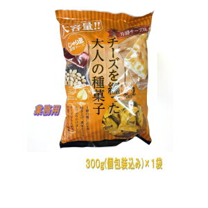 【送料無料(沖縄・離島除く)】トーノー じゃり豆 濃厚チーズ 業務用 300g(個包装込み) 1袋