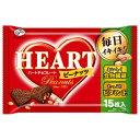 【送料無料(クール便)】不二家 ハートチョコレート(ピーナッツ)1ケース(15枚×15袋)