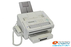 【送料無料】業務用中古FAX/中古ファックスNTT OFISTAR S3100/最大A4用紙サイズモノクロ LAN FAX/コピー/プリンタ/スキャナーハンドセット付 Windows98【中古】